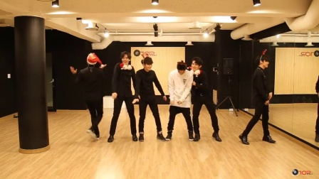 【KHD】TEEN TOP-Snow Kiss MV(舞蹈练习版)