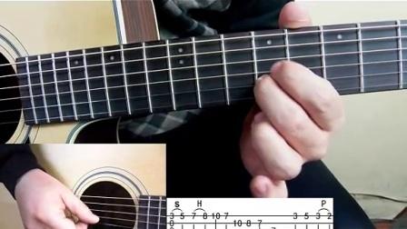 七星吉他指弹教学视频第十五课river