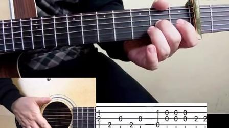 七星吉他指弹教学视频第十六课river