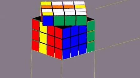 4阶魔方23棱翻转的公式
