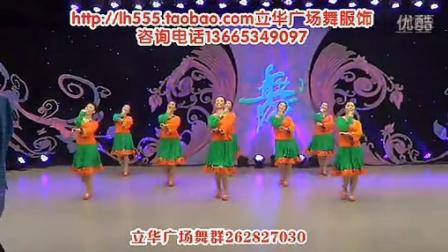 临盘立华广场舞天上西藏背面
