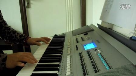 红尘情歌电子琴五线谱