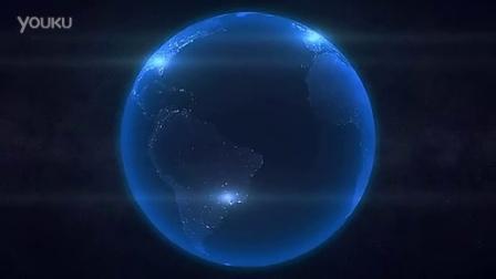 地球空间动画ae模板