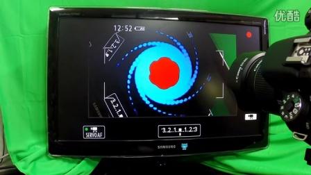 把单反连接到显示器后,用单反拍摄显示器里的画面,效果很神奇!