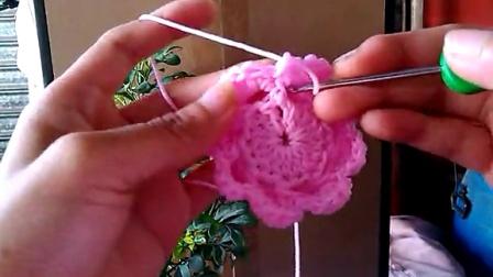 钩针编织之牡丹花