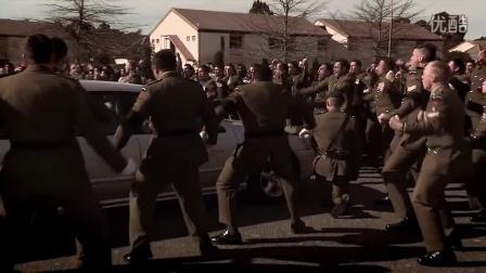 新西兰士兵用毛利战舞向战死的战友告别