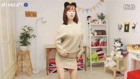 韩国美女主播  汉娜 可爱热舞
