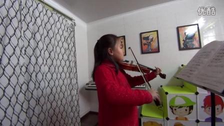 51小提琴网-零基础三年级小学员演奏加沃特舞曲-选自歌剧迷娘
