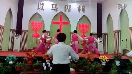 泰兴黄桥教堂主日视频:打腰鼓