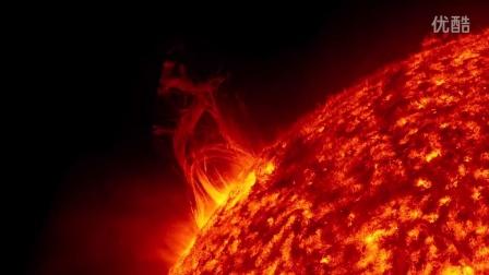 太壮观了!NASA花了5年时间拍下太阳的延时摄影