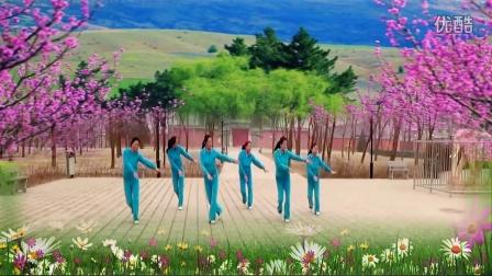 38北京古塔公园宝真健身队广场舞―大运年年编舞 贺月秋