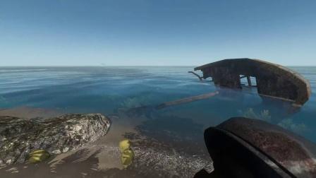 荒岛求生~stranded deep~目前是最新测试版本~飞机