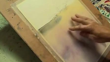 【失逝】水彩风景教学视频(二)背景