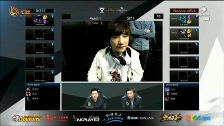SKT vs Najin 第1场 2015OGN春季赛常规赛第一轮