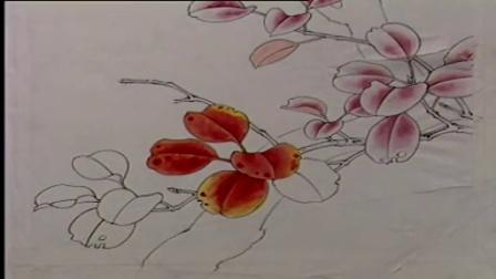工笔花鸟教学日志工笔花鸟画中国技法书工笔画教学,工笔画入