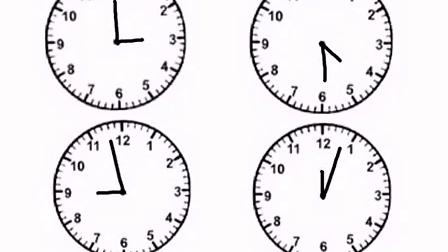 认识钟表 –