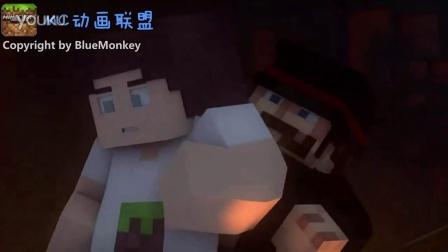 MC中文动画-脑残的矿难事故-BlueMonkey