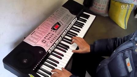 妈妈的吻电子琴谱