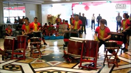 春节舞狮表演全记录