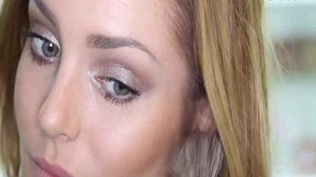 新手化妆教程视频_画眼线技巧初学化妆
