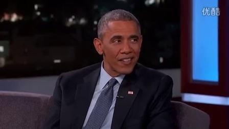 奥巴马现身脱口秀:外星人严格控制我们