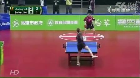 台湾的兵乓球比赛已经变成这样了吗?