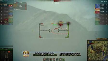 坦克世界9.6拎大侠解说 九杀三秃子 法定勋章 临危不惧