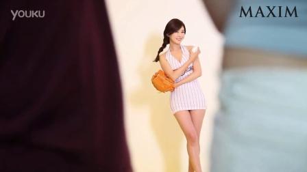 MAXIM 英公 韩国可爱棒球美女性感写真