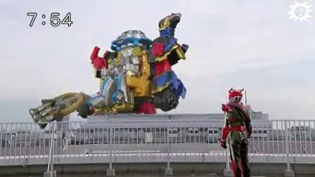 【龙哥上传】手里剑战队vs假面骑士drive图片