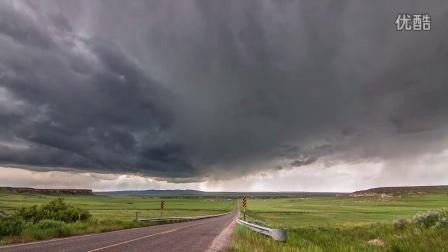令人窒息的美,用延时摄影记录下的风暴来袭