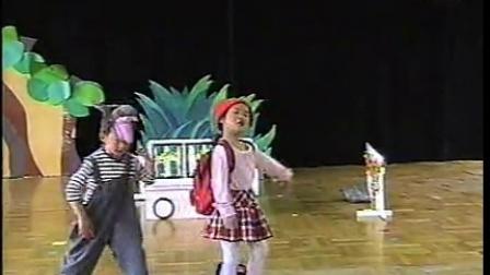 中班《小红帽》幼儿童话剧舞台剧六一元旦节日
