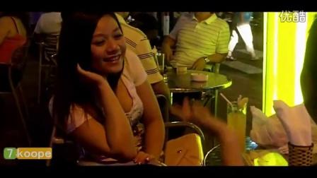 越南街头美女自拍喝果汁