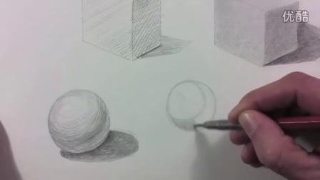怎么画物体影子