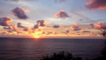 塞班岛看日出,1分钟就能让你无法自拔!