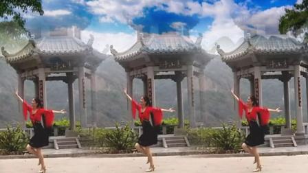 上砂姐妹广场舞 蓝天悠悠白云朵朵