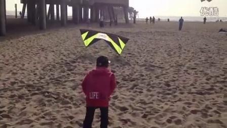 这风筝的操控技巧已经逆天了!