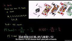 03:扑克牌中的概率与文氏图