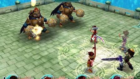 仙剑三迷宫及boss战之海底城三连战