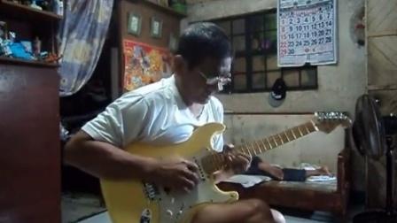 高手在民间 电吉他卡农阿伯