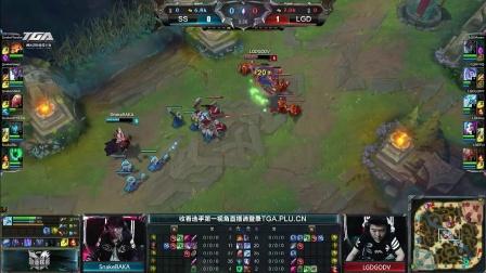 Snake vs LGD 第2场 2015LPL春季赛季后赛四强淘汰赛