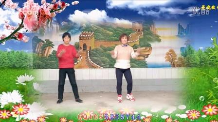 鹏辉广场舞【我爱大草原】编舞:可爱玫瑰花 视频制作
