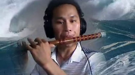 旧笛子演奏:《绿岛小夜曲》