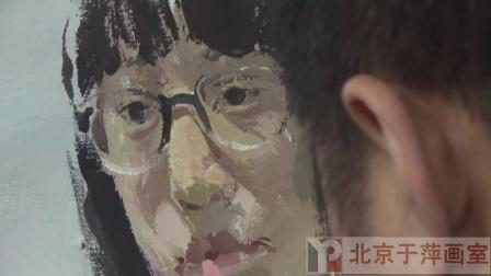 北京于萍画室色彩头像示范二