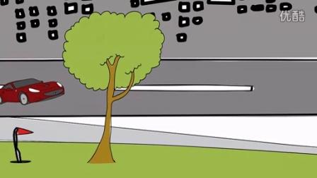 骑行环保手绘宣传片