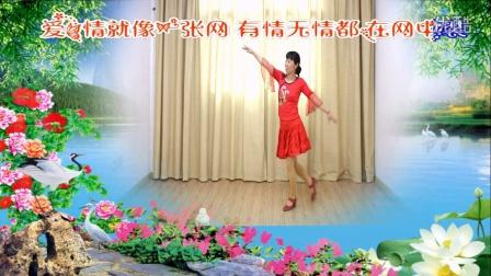 舞动活力广场舞东边的太阳西边的雨 (2)