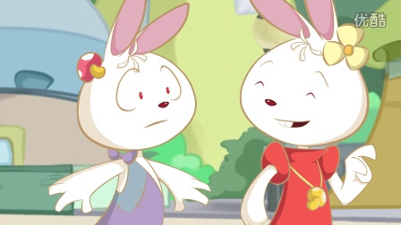 简单可爱的卡通兔兔