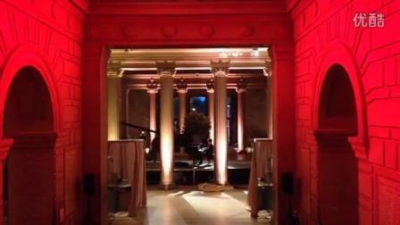 郎朗大都会博物馆大厅演奏春节序曲,后台拍摄