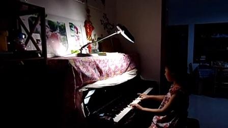 钢琴曲北风吹视频
