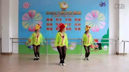 小苹果舞蹈教学 小苹果筷子兄弟mv原版 小苹果儿童舞蹈