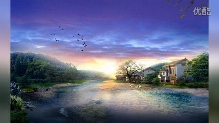 手绘中国高清古典园林美景